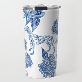BLUE BATIK WEIMS Travel Mug