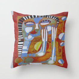 Cruel Winter Throw Pillow
