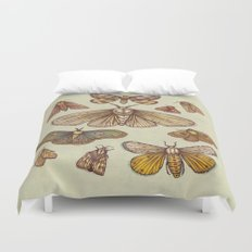 Moths Duvet Cover