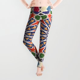 ARTERESTING V47 - Moroccan Traditional Design Leggings