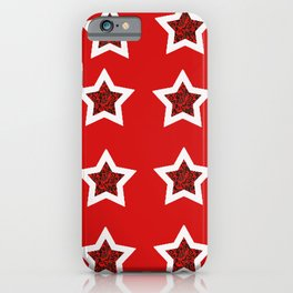 red star 6 iPhone Case