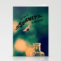 journey Stationery Cards featuring Journey by RDelean