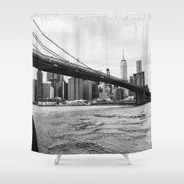 Brooklyn Bridge III Shower Curtain