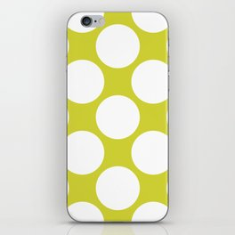 Polka Dots Green iPhone Skin