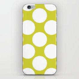 Polka Dots Green iPhone Skin
