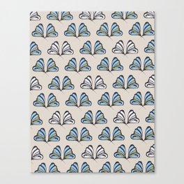 Madam Butterfly Print Canvas Print