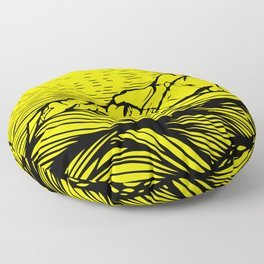 The Island Floor Pillow