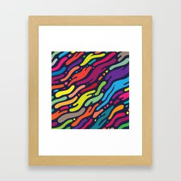 Ocean Floor Framed Art Print