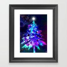 Christmas Tree Framed Art Print