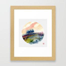 genius Loci 4 Framed Art Print