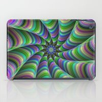 striped iPad Cases featuring Striped tentacles by David Zydd