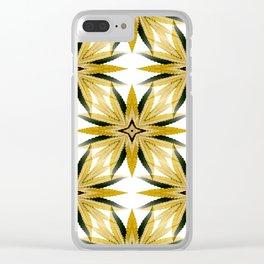 Canna-Stars... Clear iPhone Case