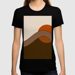 Cocoa Sundown Stripes T-shirt