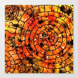 Ornament Maya Canvas Print