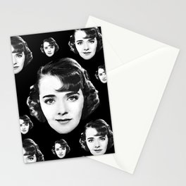 Floating Ruby Keeler Head Stationery Cards