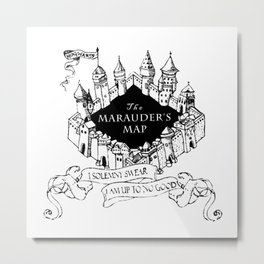 Mischief Managed Metal Print