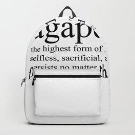 Agape Love Backpack