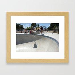 Ojai Handplant Framed Art Print