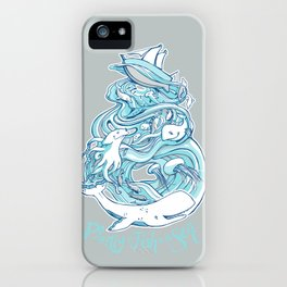 Plenty of Fish in the Sea iPhone Case