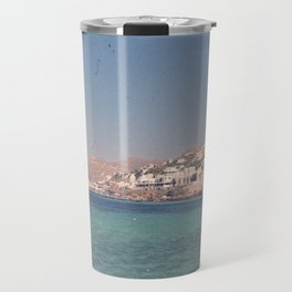 Greek Island Paradise Travel Mug