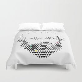 Marx in Dots Duvet Cover