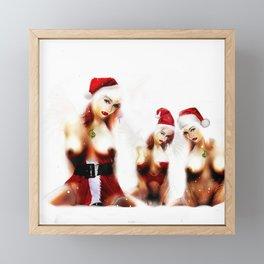 Christmas Daze. Trio of the best. Framed Mini Art Print