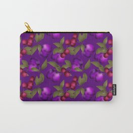 Fruit market . Plum and cherry . Carry-All Pouch