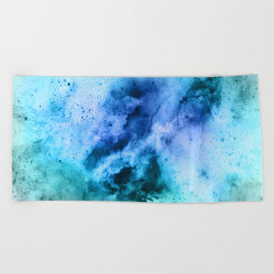 π Puppis Beach Towel
