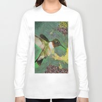 flight Long Sleeve T-shirts featuring Flight by A.Aenska-Cholpanova