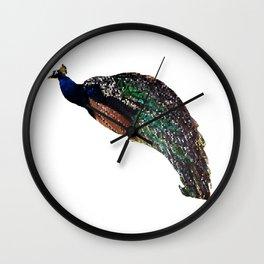 Mosaic Bird Wall Clock