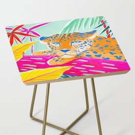 Vibrant Jungle Side Table