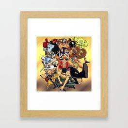 Pirate King Framed Art Print