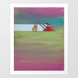 Chores Art Print