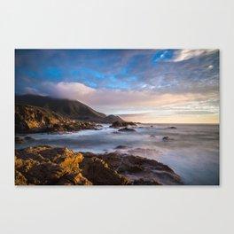 California Coast 4 Canvas Print