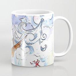 Ship on a Spout Coffee Mug