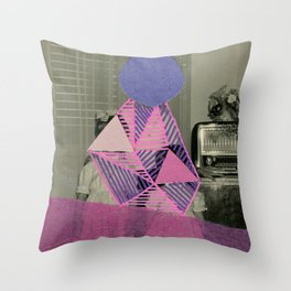 Young Witches Throw Pillow