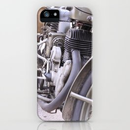 Old motorbike iPhone Case
