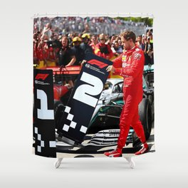 Formula 1 Shower Curtain