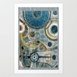 iPhone Gears Art Print