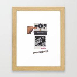 Herencia Framed Art Print