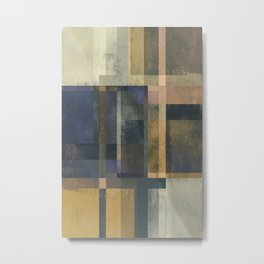 Abstract Geometry No. 19 Metal Print