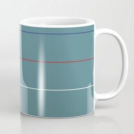 Postmodern Primary Horizon Coffee Mug