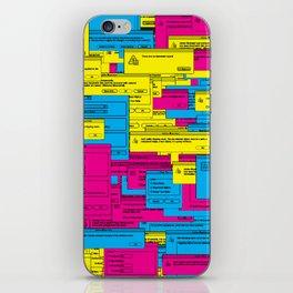 Designer Dialogues AI1 iPhone Skin