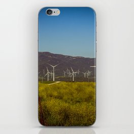 Group of fans in the mountains. iPhone Skin