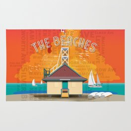 The Beaches Rug