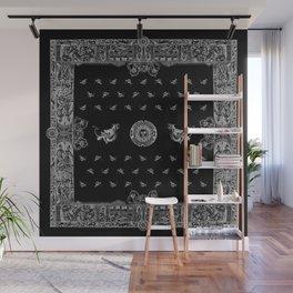 Black and Silver Hobgoblin Bandana Wall Mural