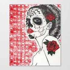 La Calavera Katrina Canvas Print