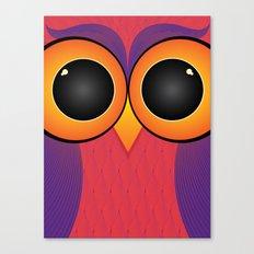 The Curious Owl Canvas Print