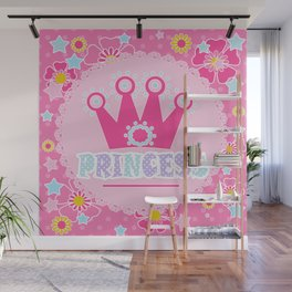 """For the little Princess. From the series """"Gifts for kids"""" . Wall Mural"""