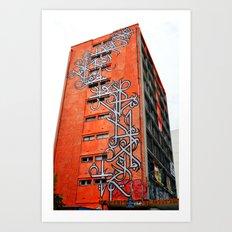 O-building Art Print